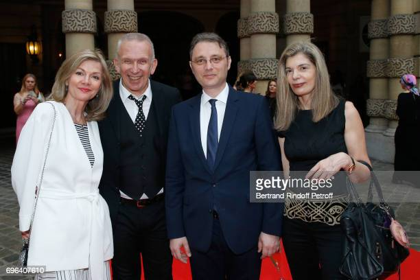 Ambassador of Sweden to France Veronika WandDanielsson JeanPaul Gaultier Ambassador of Romania to France Luca Niculescu and Ambassador of Greece to...
