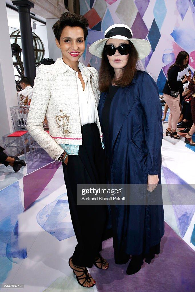 Schiaparelli : Front Row - Paris Fashion Week - Haute Couture Fall/Winter 2016-2017