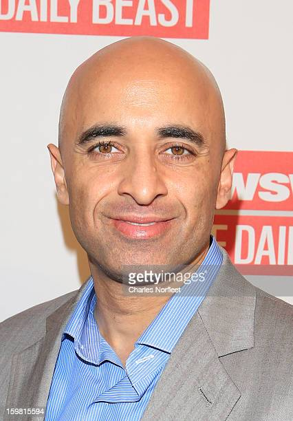 Ambassador of the United Arab Emirates to the United States Yousef Al Otaiba attends The Daily Beast BiPartisan Inauguration Brunch at Cafe Milano on...