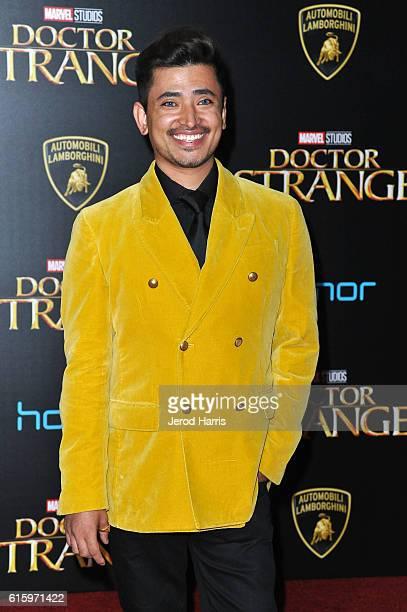 Ambassador Pritan Ambroase arrives at the Premiere of Disney and Marvel Studios' 'Doctor Strange' on October 20 2016 in Hollywood California