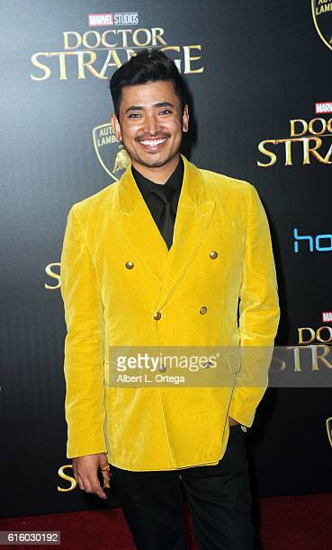 Ambassador Pritan Ambroase arrives for the Premiere Of Disney And Marvel Studios' Doctor Strange held at the El Capitan Theatre on October 20 2016 in...