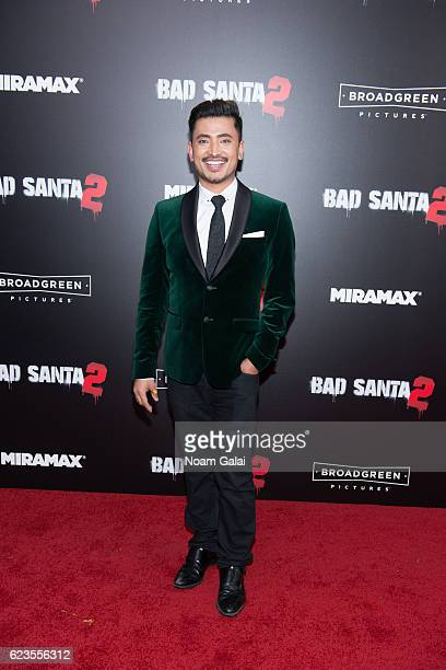 Ambassador Pritan Ambroase attends the 'Bad Santa 2' New York premiere at AMC Loews Lincoln Square 13 theater on November 15 2016 in New York City