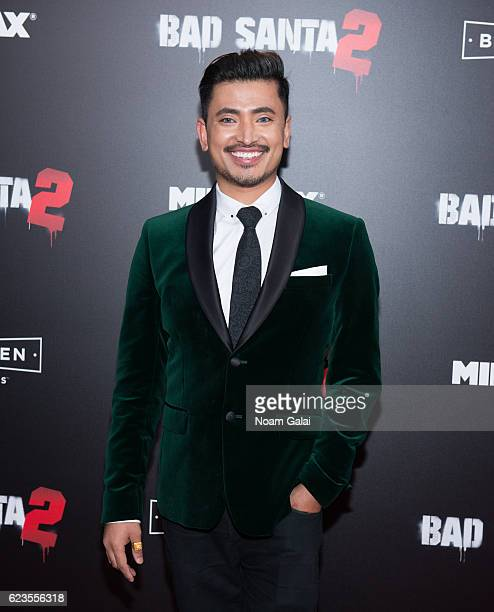 Ambassador Pritan Ambroase attends the Bad Santa 2 New York premiere at AMC Loews Lincoln Square 13 theater on November 15 2016 in New York City