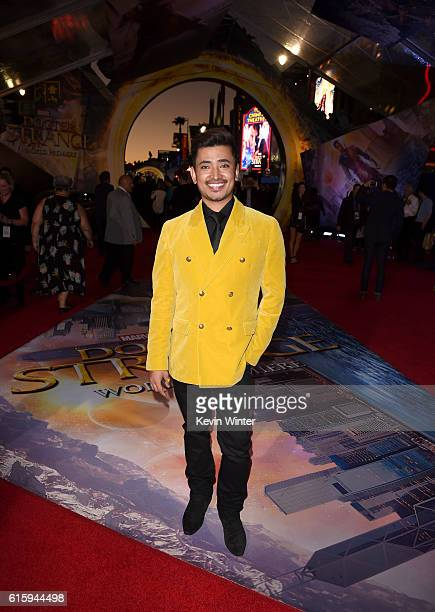 Ambassador Pritan Ambroase attends the premiere of Disney And Marvel Studios' 'Doctor Strange' on October 20 2016 in Hollywood California