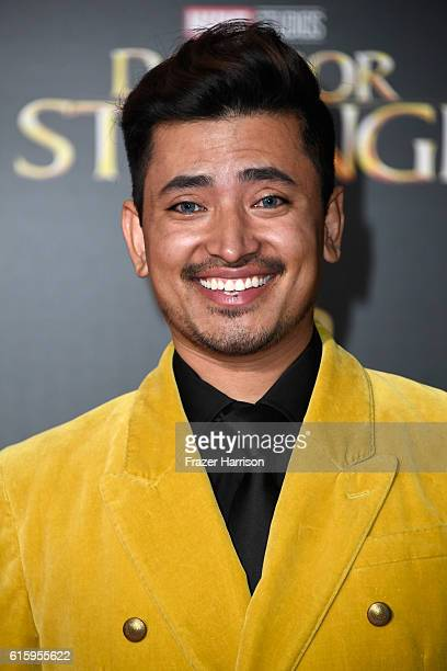 Ambassador Pritan Ambroase attends the premiere of Disney and Marvel Studios' Doctor Strange at the El Capitan Theatre on October 20 2016 in...