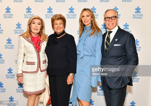 First Lady of Republic of Cyprus Andri Anastasiades First Lady of Serbia Tamara Dukanovic Vucic and UNESCO Ambassador Republic of Cyprus Marianna...