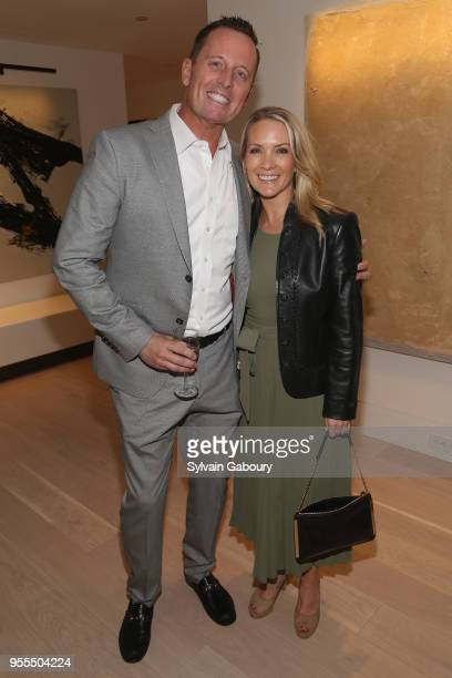 Ambassador Richard Grenell and Dana Perino attend Ambassador Grenell Goodbye Bash on May 6 2018 in New York City