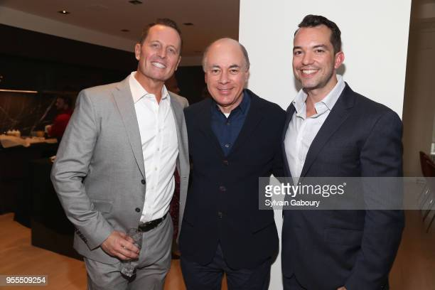 Ambassador Richard Grenell Rick Friedberg and Bryan Eure attend Ambassador Grenell Goodbye Bash on May 6 2018 in New York City