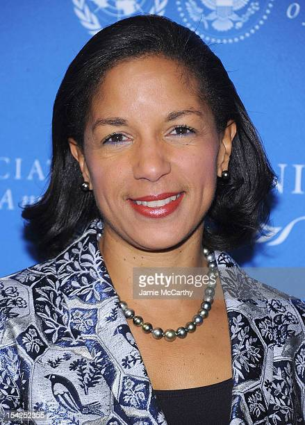 Ambassador Susan Rice attends the 2012 Global Leadership Awards Dinner at Cipriani 42nd Street on October 16, 2012 in New York City.