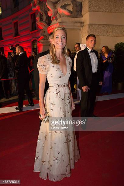 S Ambassador to Austria Alexa L Wesner attend the Fete Imperiale 2015 on June 26 2015 in Vienna Austria