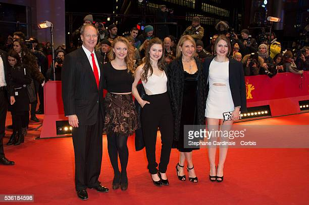 US Ambassador to Germany John B Emerson his wife Kimberly and daughters Hayley Jacqueline and Taylor attend the 'Genius' premiere during the 66th...