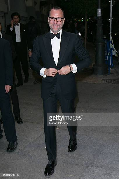 Ambassador to Spain James Costos is seen arriving to GQ Men of The Year awards at Palace Hotel on November 5, 2015 in Madrid, Spain.