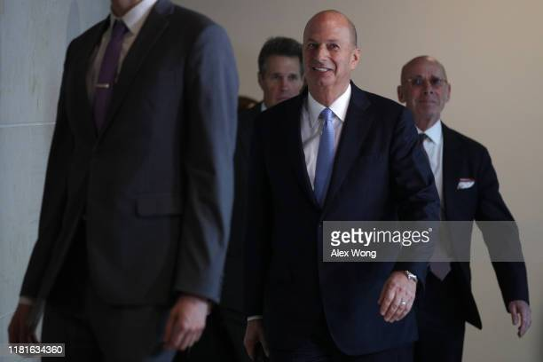 S Ambassador to the European Union Gordon Sondland arrives at a closed session before the House Intelligence Foreign Affairs and Oversight committees...