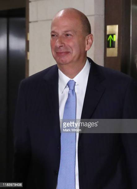 S Ambassador to the European Union Gordon Sondland arrives for a closed session before the House Intelligence Foreign Affairs and Oversight...
