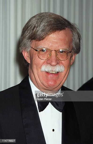 US Ambassador to the UN John R Bolton during CORE Hosts the Martin Luther King Ambassadorial Reception and Awards Dinner Reception at New York...