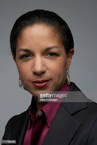Ambassador to the United Nations Susan E. Rice is photographed for Time Magazine on February 10, 2009 in Washington, DC.
