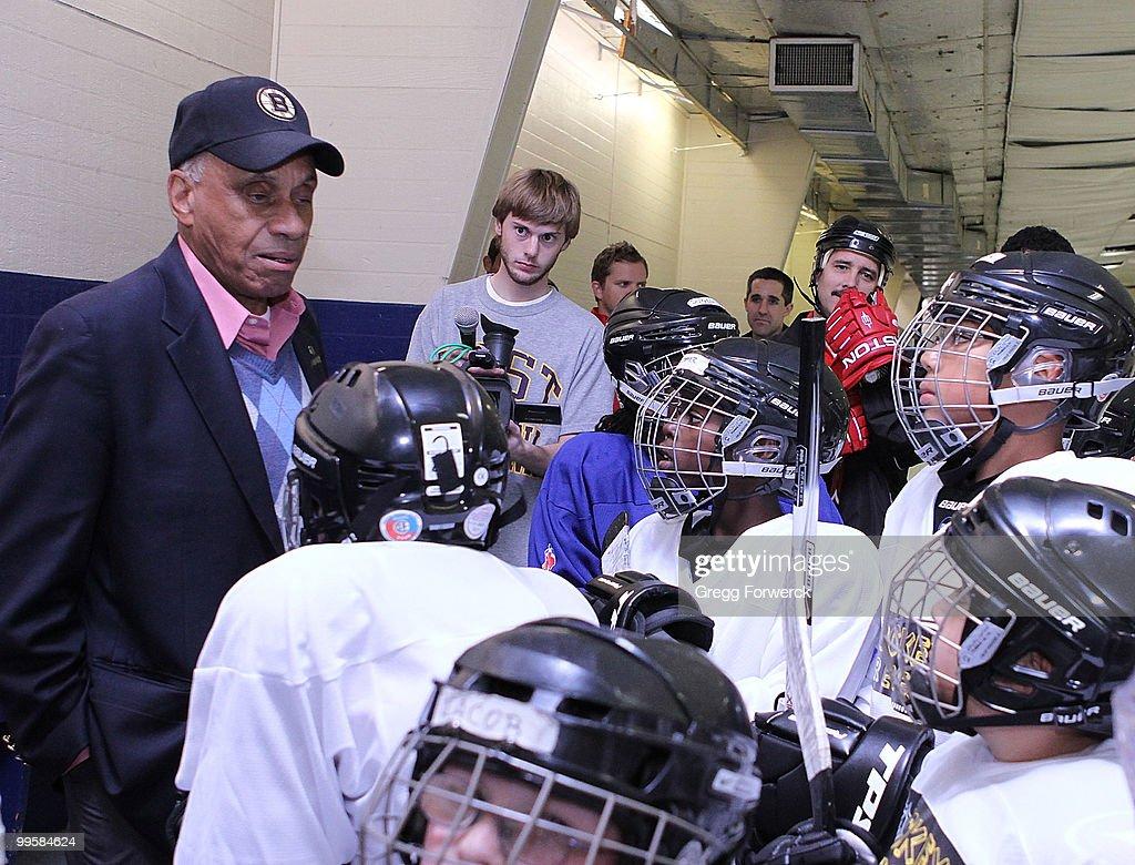 NHL & Carolina Hurricanes Team Up for Hockey is for Everyone Clinic : News Photo