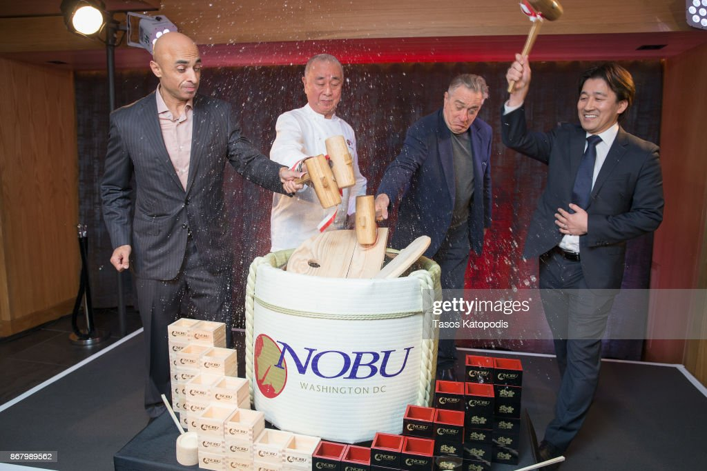Nobu Washington DC Sake Ceremony
