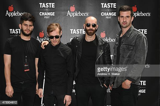 Ambassadors attend the Applebee's Hosts Taste the Change Fest in Times Square introducing New Menu on May 13 2015 in New York City