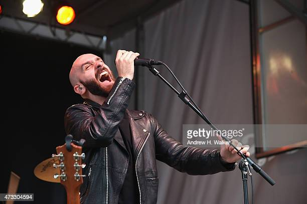Ambassadors perform onstage at the Applebee's Hosts Taste the Change Fest in Times Square introducing New Menu on May 13 2015 in New York City