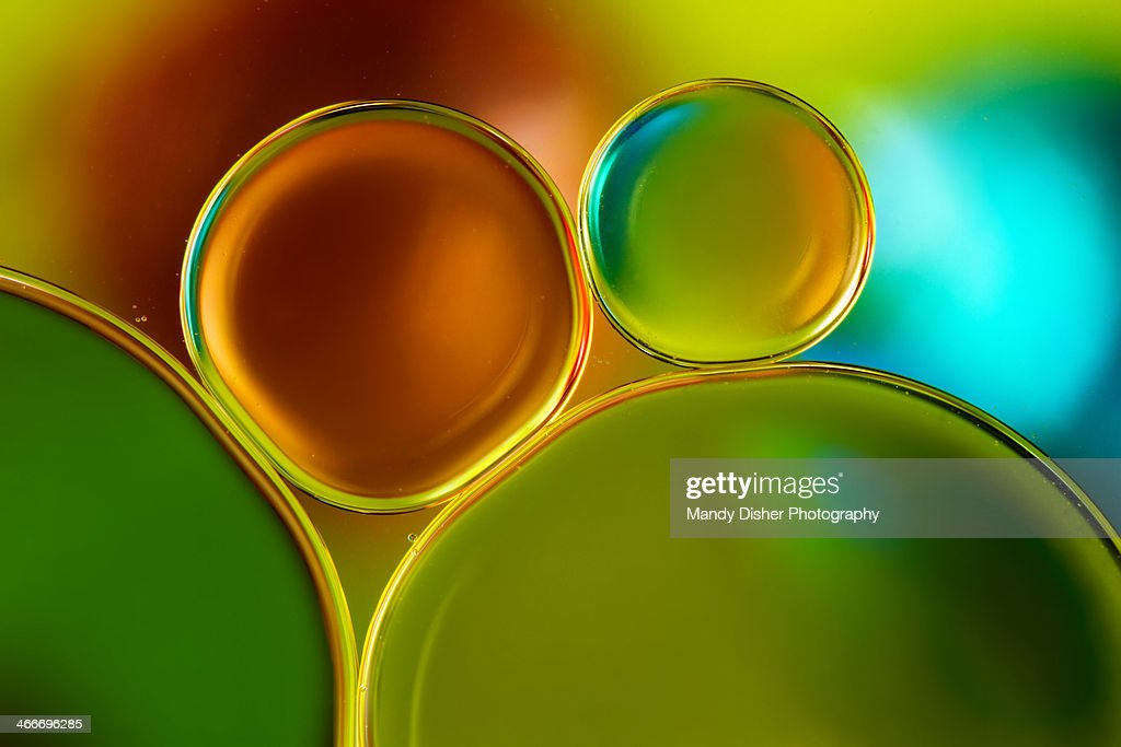 Amber and green : Stock Photo