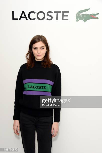 Amber Anderson attends Lacoste VIP lounge at the 2019 ATP World Tour Tennis Finals on November 10, 2019 in London, England.