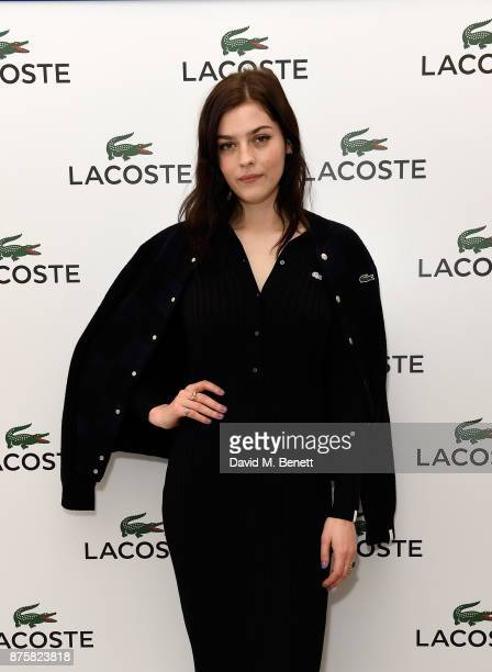 Amber Anderson attends Lacoste VIP Lounge during 2017 ATP World Tour Semi Finals at The O2 Arena on November 18 2017 in London England