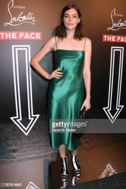 Amber Anderson attends the LFW opening party hosted by Christian Louboutin & The Face at Jack Solomons on September 13, 2019 in London, England.