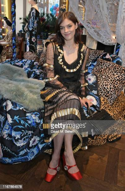 Amber Anderson attends the Temperley London SS20 presentation during London Fashion Week September 2019 on September 13, 2019 in London, England.