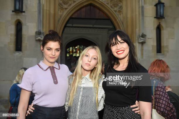 Amber Anderson Ella Richards and Daisy Lowe attend the ALEXACHUNG London Launch and Collection Reveal party on May 30 2017 in London England