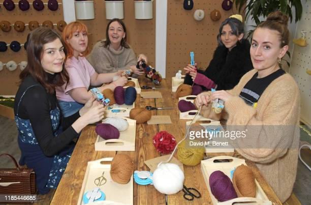 Amber Anderson, Honey Ross, Esme Hedges, Scarlett Curtis and Anna Veglio-White attend Allbirds Conscious Consumerism event on Black Friday on...