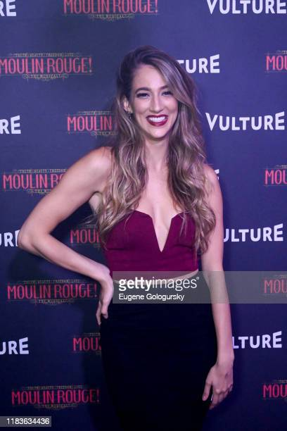 Amber Ardolino attends the Vulture And Moulin Rouge The Musical Present A Spectacular Spectacular Moulin Rouge The Musical Album Release on October...