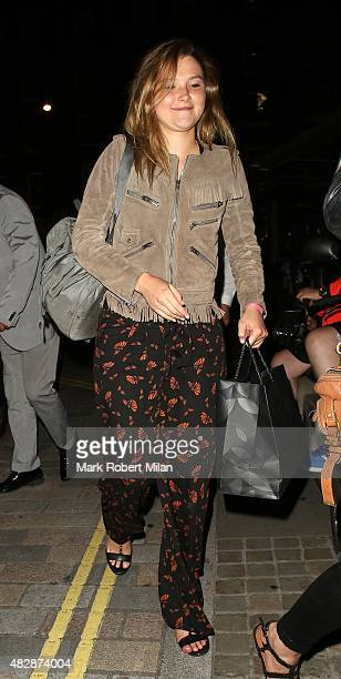Amber Atherton at the Chiltern Firehouse on August 3 2015 in London England