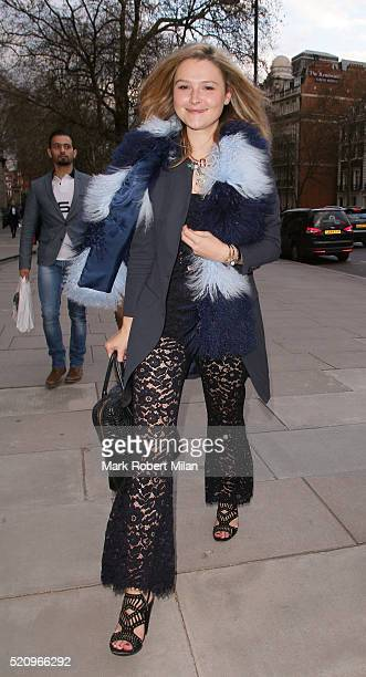Amber Atherton attending 'Undressed A Brief History of Underwear' Private View at the VA on April 13 2016 in London England