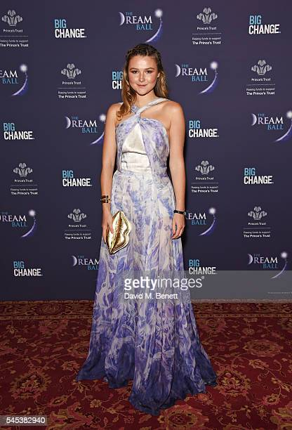 Amber Atherton attends The Dream Ball in aid of The Prince's Trust and Big Change at Lancaster House on July 7 2016 in London United Kingdom