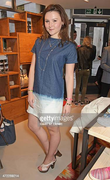 Amber Atherton attends the launch of TOMS London Community Outpost their first UK Flagship store off Carnaby Street on May 5 2015 in London England
