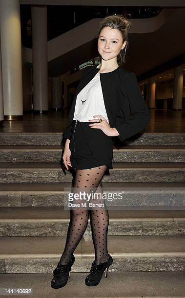 Amber Atherton attends the World Premiere of 'The Dictator' at the Royal Festival Hall on May 10 2012 in London England