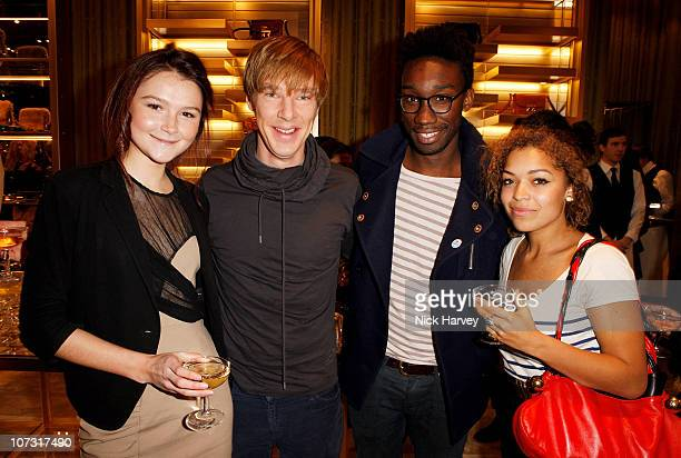 Amber Atherton Benedict Cumberbatch Nathan StewartJarrett and Antonia Thomas attend the launch of fashion brand Miu Miu's new flagship London store...