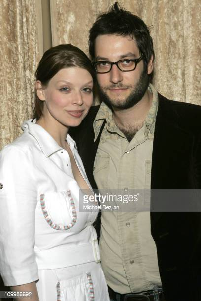 Amber Benson and Adam Bush during 4th Annual Indie Producers Awards Gala After Party in Los Angeles California United States