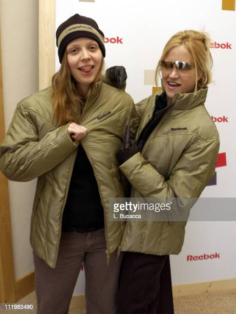 Amber Benson and Lori Heuring during 2002 Sundance Film Festival The Reebok Retreat Day 8 at The Reebok Retreat in Park City Utah United States