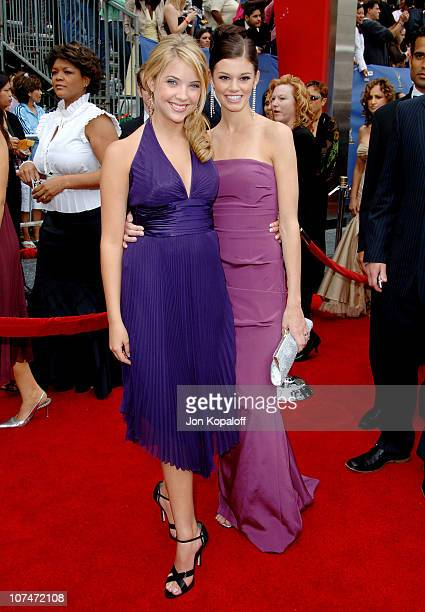 Amber Benson and Rachel Melvin during 33rd Annual Daytime Emmy Awards Arrivals at Kodak Theater in Hollywood California United States