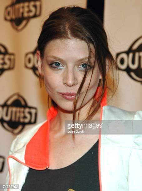 Amber Benson at the Orpheum Theatre in Los Angeles California