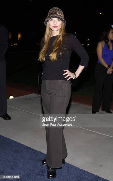 Amber Benson during HP and The Hollywood Reporter Celebrate 'The Future Through TV Film' Arrivals at Astra West in West Hollywood California United...