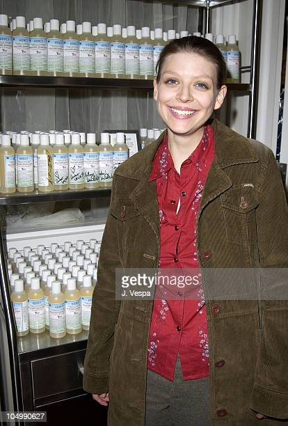 Amber Benson during Kiehl's Santa Monica Store Grand Opening to Benefit YouthAIDS at Kiehl's Santa Monica Store in Santa Monica California United...