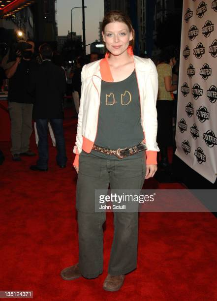 Amber Benson during Outfest 2005 Opening Night Gala at Orpheum Theatre in Los Angeles California United States