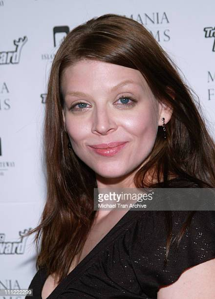 Amber Benson during 'Tripping Forward' Los Angeles Screening Arrivals at Fine Arts Theater in Beverly Hills California United States