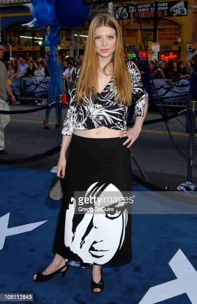 Amber Benson during 'X2 XMen United' Premiere Los Angeles Arrivals at Grauman's Chinese Theatre in Hollywood California United States