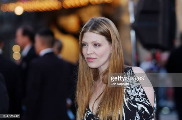 Amber Benson during 'X2 XMen United' Premiere Los Angeles Blue Carpet Arrivals at Grauman's Chinese Theatre in Hollywood California United States