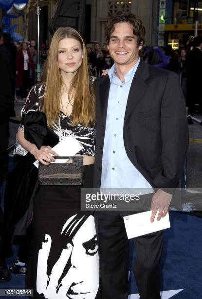 Amber Benson Greg Rikaart during 'X2 XMen United' Premiere Los Angeles Arrivals at Grauman's Chinese Theatre in Hollywood California United States