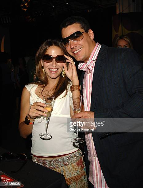 Amber Brkich and Rob Mariano during 2005 MuchMusic Video Awards Gift Bag Lounge at CHUM CITY TV Building in Toronto Ontario Canada